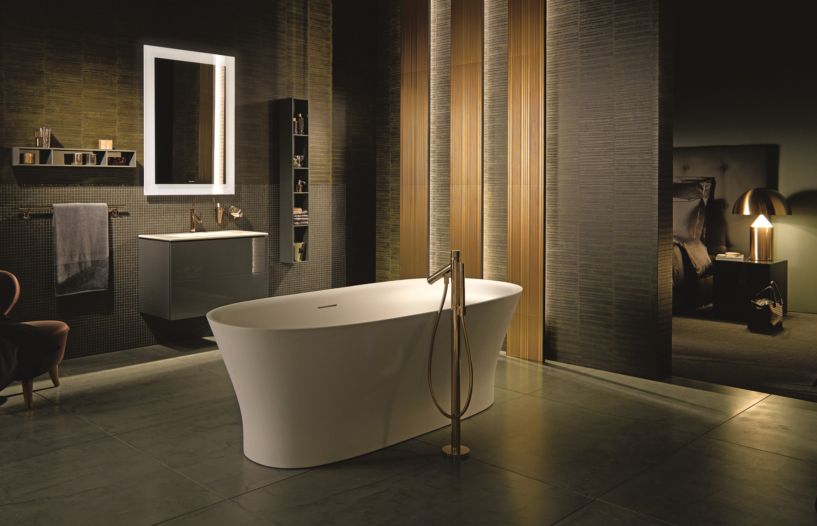 huge variety of duravit baths fountaindirect. Black Bedroom Furniture Sets. Home Design Ideas