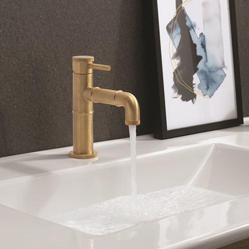 Crosswater MPRO Industrial Brushed Brass