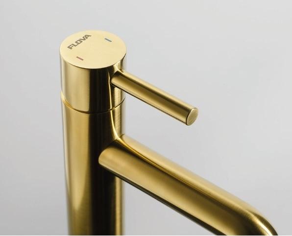 Flova Levo Brushed Brass