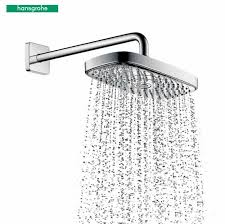 hansgrohe select shower heads rails