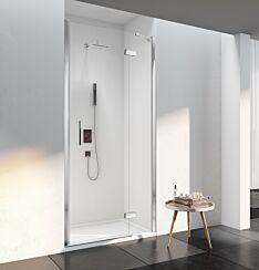 Merlyn 6 Series Frameless Hinge Door and Inline with Trays