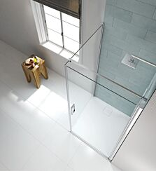 Merlyn Series 8 Frameless Pivot Shower Door Side Panel