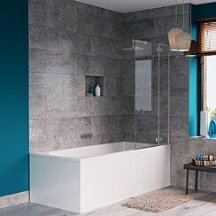Crosswater Svelte Single Bath Screen