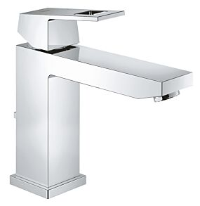 Grohe Eurocube Basin Mixer Tap 1/2 Inch M-Size with Pop Up Waste - Chrome