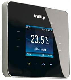 Warmup 3iE Programmable Touch Screen Thermostat Piano Black