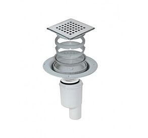 Impey Tiled Floor Gully - Vertical Outlet