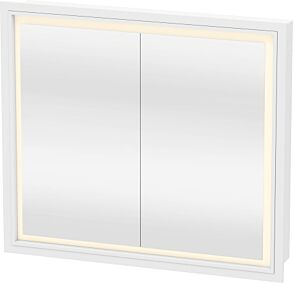 Duravit L-Cube Mirror Cabinet (Built in)  800