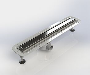 Impey Standalone Linear Drain 800mm with Tiled Insert